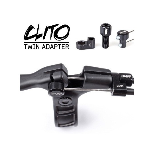 34R Twin adapter Clito (set 3 buc)