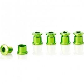 FOURIERS Surub de prindere pt foaie angrenaj, 5 buc/set 5mm Verde mar