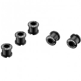 FOURIERS Surub de prindere pt foaie angrenaj, 5 buc/set 7mm, Negru