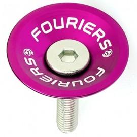 FOURIERS Capac pentru furci, 1-1/8, Aluminiu 6061-T6 CNC, Mov