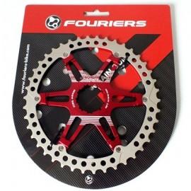 FOURIERS Pinion Mega SK2 42T Rosu