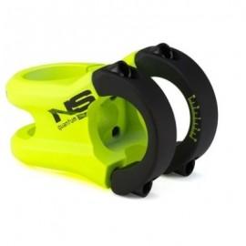 NSBIKES Pipa Quantum 25.4mm, lungime: 37mm, verde/galben