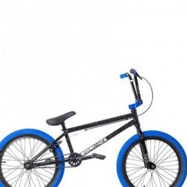 """VOLUME Bicicletă BMX District 20.75"""" TT, negru-albastru"""