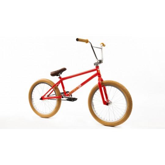 """FIT Bicicleta BMX 2017 Dugan 1 20.25"""" LHD Portocaliu-Rosu"""