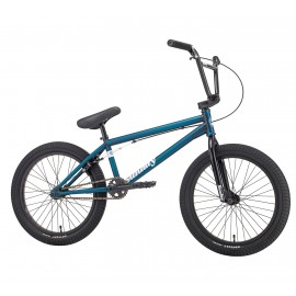 "SUNDAY Bicicleta BMX Scout 20"" 2018 20.85""TT albastru transparent"