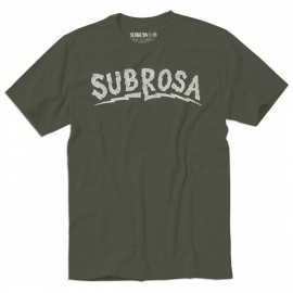 SUBROSA Tricou Voltage Verde