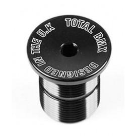 TOTALBMX Top cap pt furca Negru H25