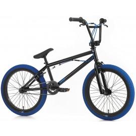 SIBMX Bicicleta BMX 2018 FS-1 negru-albastru