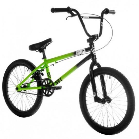 SUBROSA Bicicleta BMX 2018 SB1 Negru-Rosu
