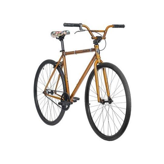 "SUBROSA Bicicleta UTB Rixa Medium TT 23"" Auriu"