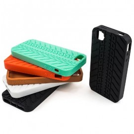 KINK Kink Lyra Tire Style iPhone 4/4S Case negru