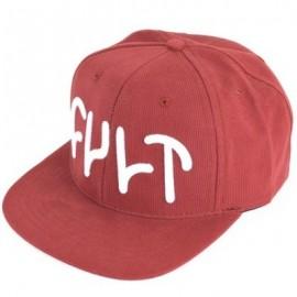 CULT Șapcă DAKOTA ROCHE roșu