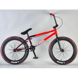 Mafiabikes Bicicleta BMX Kush2plus Rosu-Negru