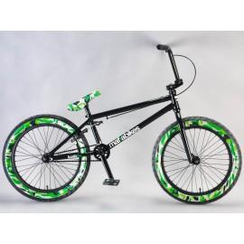 Mafiabikes Bicicleta BMX Kush2plus Negru-Verde Camo