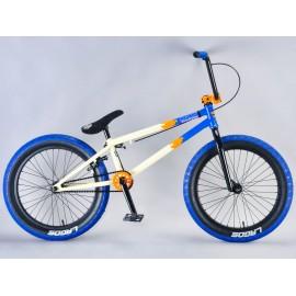 Mafiabikes Bicicleta BMX Madmain 20 Albastru-Crem