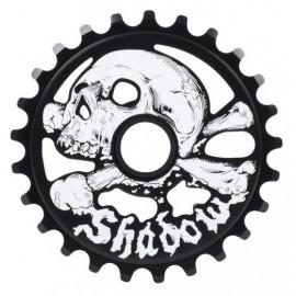 THE SHADOW CONSPIRACY Foaie Angrenaj Cranium 25T Negru