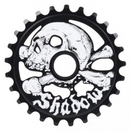THE SHADOW CONSPIRACY Foaie Angrenaj Cranium 28T Negru