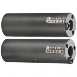 "ODYSSEY Peguri MPegs 4"" 14mm, negru (per)"