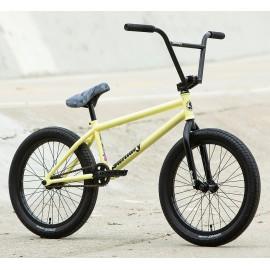 """SUNDAY Bicicleta BMX 2020 Street Sweeper 20"""" galben mat LHD 20.75""""TT"""