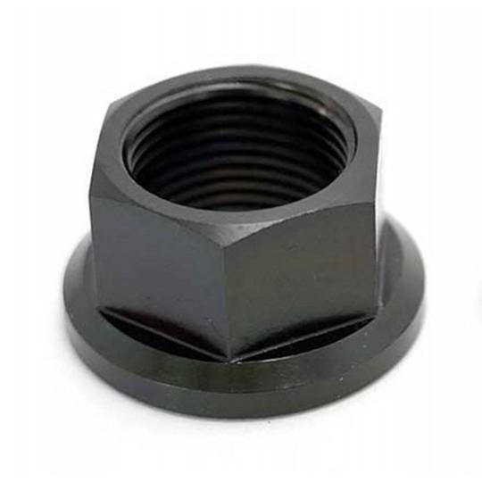 KHE Piulite pt ax de 14mm, negru, pereche