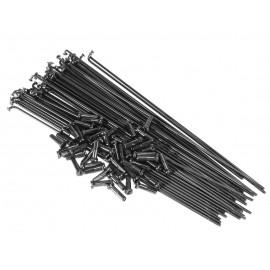 SALT Set Spite 186mm negru