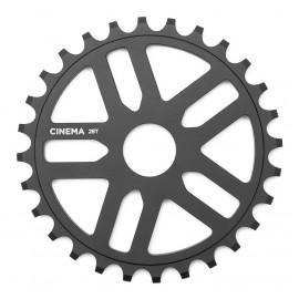 CINEMA Foaie angrenaj Rewind 28t, negru mat