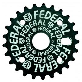 FEDERAL Foaie angrenaj Logo Solid 25t - negru
