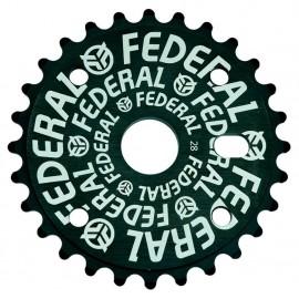 FEDERAL Foaie angrenaj Logo Solid 28t - negru