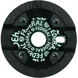 FEDERAL Foaie angrenaj Logo Solid cu Protectie Impact 25t - negru