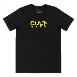 CULT Tricou Sicko negru XL