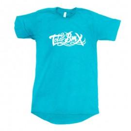 TOTALBMX Tricou Logo turcoaz L