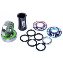 TOTALBMX Mid BB Team 22mm rainbow
