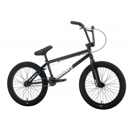 "SUNDAY Bicicleta BMX 2020 Blueprint 20"" negru mat-cauciucuri albe 20"" TT"