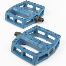 BSD Pedale BMX SAFARI plastic - albastru