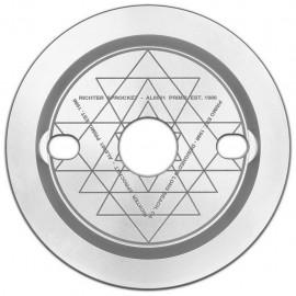 PRIMO Foaie angrenaj cu Guard Richter 25t - Argintiu