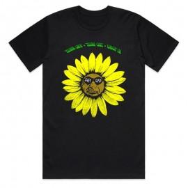 CULT Tricou Sunflower M negru