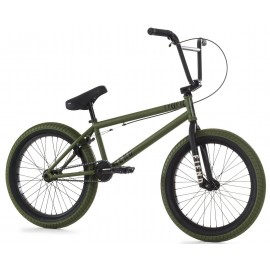 FIEND Bicicleta BMX Type O+ 20.5''TT verde armata