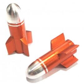 FOURIERS Capac ventil Rocket Portocaliu
