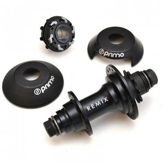 PRIMO Butuc spate Remix V3 RHD cu hubguarduri, 36 gauri female negru