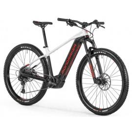 "MONDRAKER Bicicleta electrica Prime+ 27.5"" Alb/negru 2021"