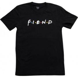 FIEND Tricou Friends - negru M