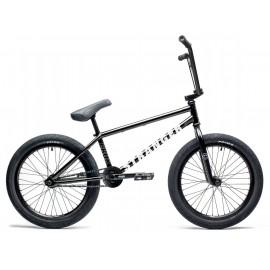 STRANGER Bicicleta BMX Crux 21 Negru Mat RHD