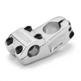 MISSION Pipa Ghidon Control Top Load, 50mm, 32mm rise, argintiu