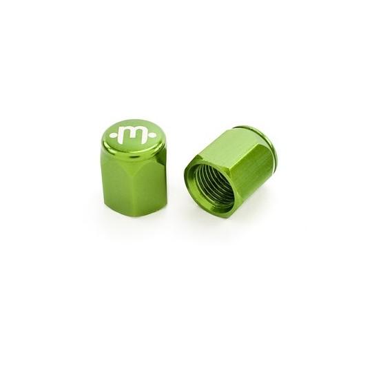 MISSION Capac Ventil Aluminiu Verde