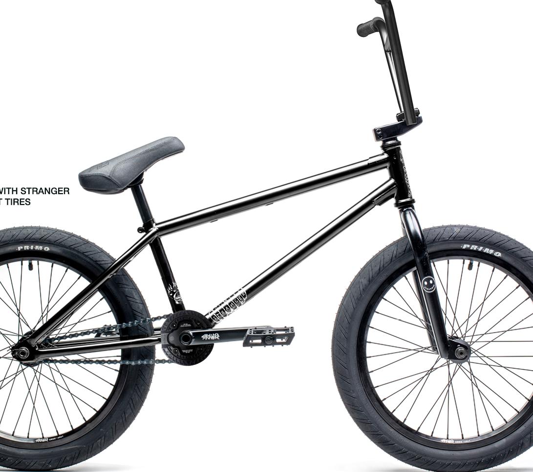 "STRANGER Bicicleta BMX Royale 21"" Negru Mat"