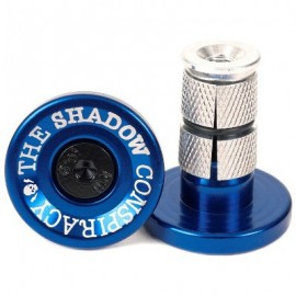 THE SHADOW CONSPIRACY Deadbolt Bar Ends albastru
