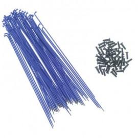 PRIMO Set spite si nipluri 184mm albastru (50 buc/set)