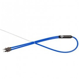 VOCAL Cablu 2 into 1 Lower Retro Albastru
