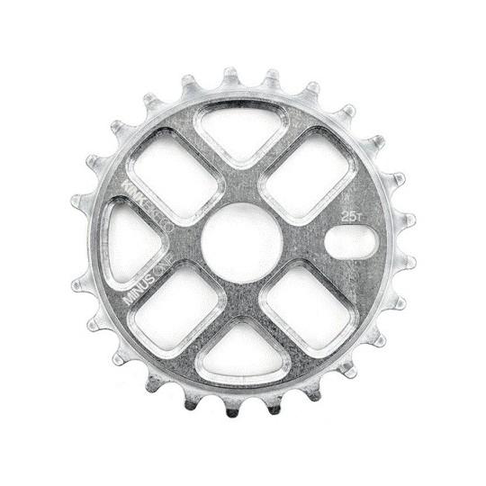 KINK foaie angrenaj Minus One 7075 25t 100% CNC raw