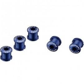 FOURIERS Surub de prindere pt foaie angrenaj, 5 buc/set 7mm. Albastru